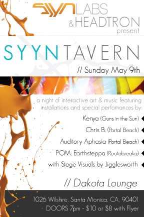 Syyn Tavern Flyer